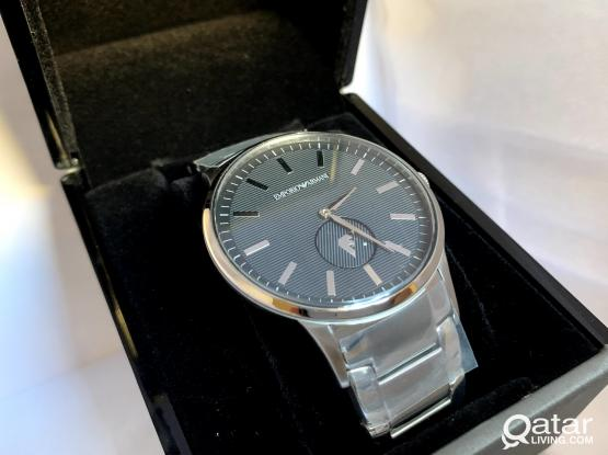 New Emporio Armani Stainless Steel Watch