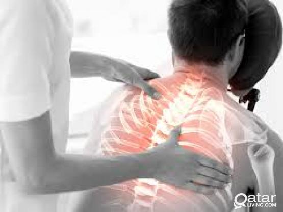 massage therapy for spontilitis frozen shoulder and body pain