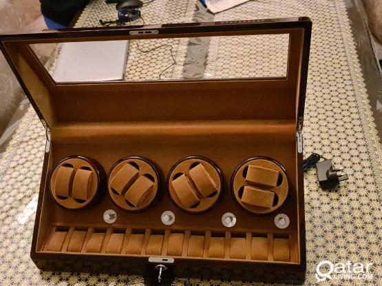 Luxurious Automatic Watch Winder Jewellery Box