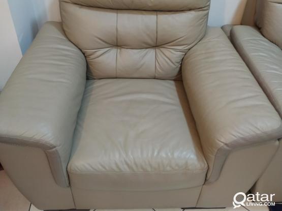 Sofa Set 3+2+1 Faux Leather