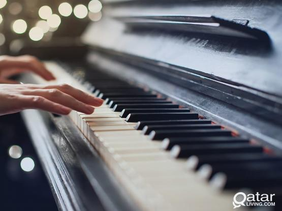 Piano and Vocal lessons