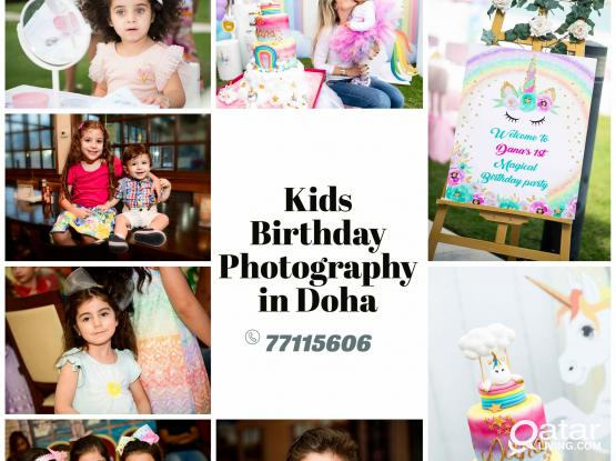Kids Events Photography in Doha