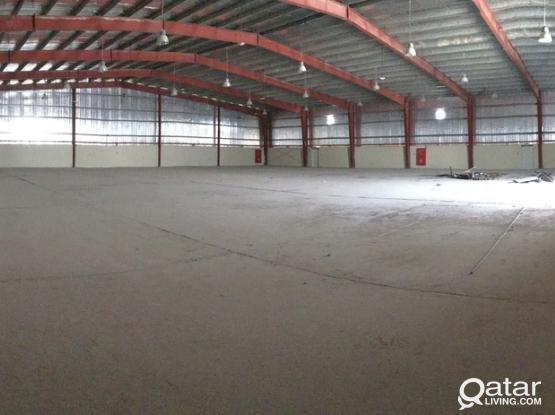 FOOD STORE 2700 SQMTR+50 ROOM  FOR ENT IN INDUSTRIAL AREA