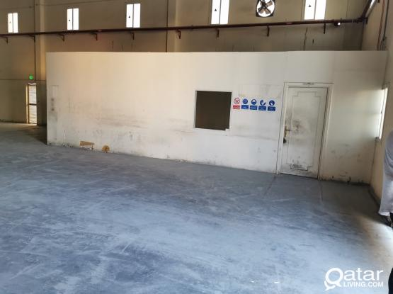 1500.SQM  TYRE STORAGE LICENSE STORE FOR RENT