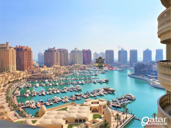 2 BHK SF/Beautiful Marina + QQ View /Porto Arabia