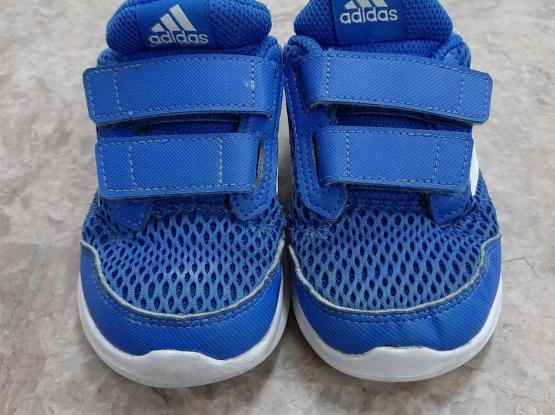Kid's shoes. Adidas size 24. Price 40 QAR.