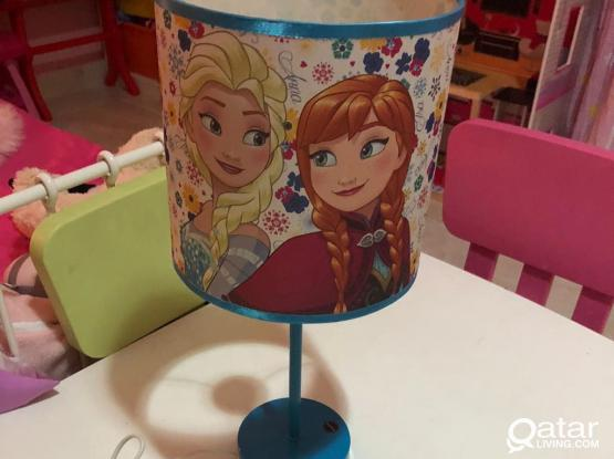 Frozen Bed Lamp/touch