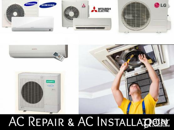 Ac sale buy maintenances remove and fixing..,.