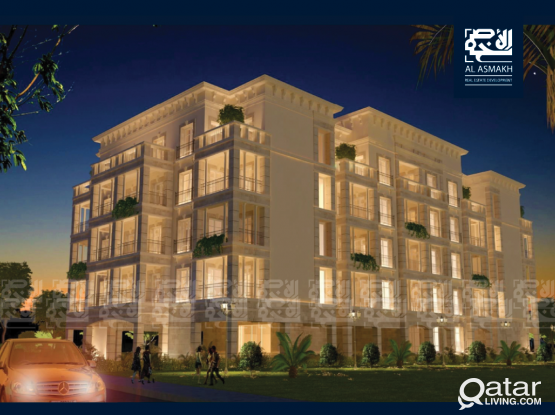 New Lux. FF 1-BDR Apartment in Fox Hills, Lusail