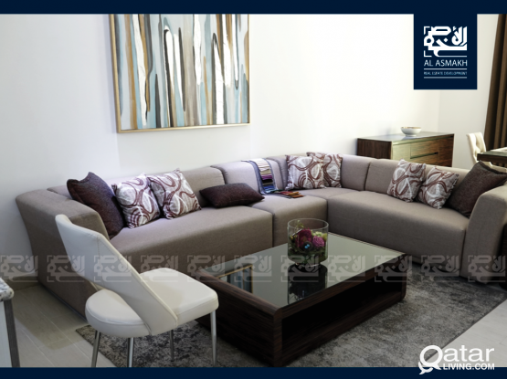 New Luxurious Fully Furnished 1-BDR Apartment in Fox Hills, Lusail