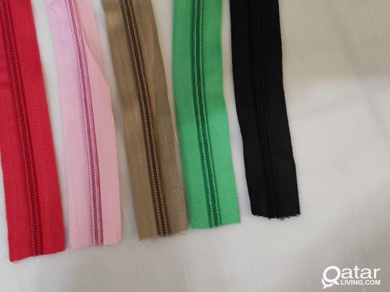 Zippers in sale