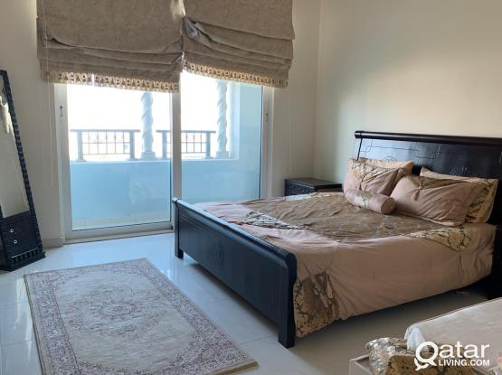 * * * Furnished 1 Bed room apartment in Viva Bahriya * * *