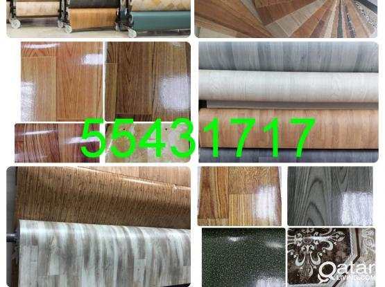 "Plastic Wooden Parquet PVC  SPC LVT Vinyl Flooring Mate Tiles Carpet Installation Sales And Fixing.  "" 55431717 """
