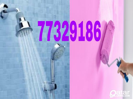 ALL KIND OF MAINTENANCE WORKS. Plumbing, Tiles, Paints, Gypsum Board, Carpet , Ac maintenance ,Electrician. Please call 77329186