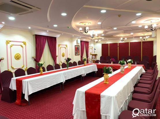 Available Party Hall for Rent with complete set up