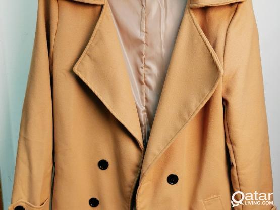 Light Brown Classic Slim Men's Coat by Sheechoshop (M)