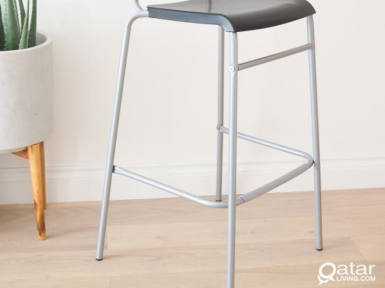 IKEA Bar Stool with backrest. STIG