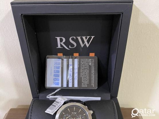 Original RSW Swiss Made Chronograph Quartz