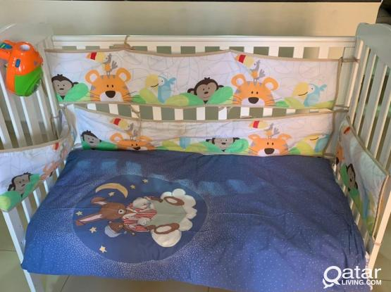 Mother Care Cot -with New Mattress