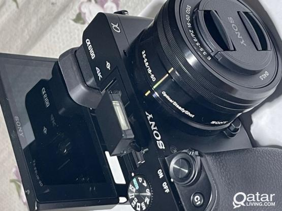 Sony Alpha 6100 mirrorless camera with Lens