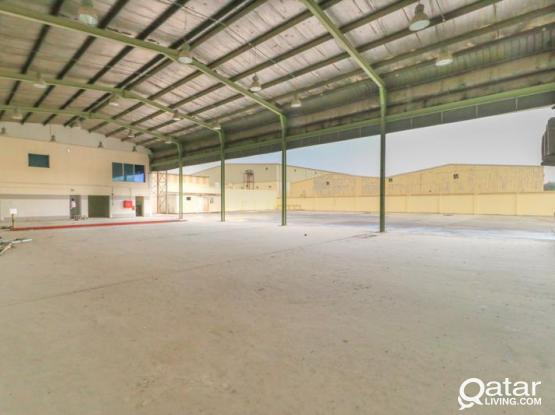 3000sqm Garage & Land including labor camp