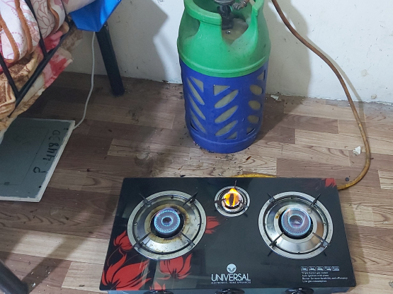 Gas cylinder stove fullset for sale