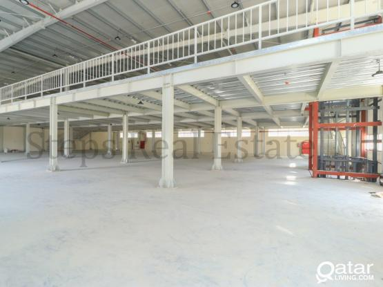 2000 Sqm Warehouse with Lifft Facility & Rooms