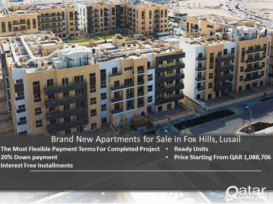 Great Opportunity! Brand New Flats in Lusail for sale
