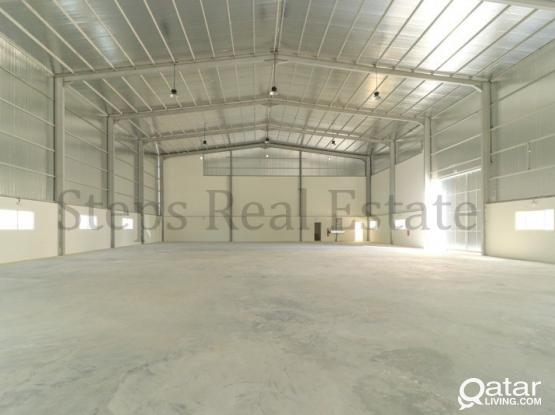 2300 Sqm Warehouse with 10 rooms