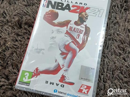Nintendo Switch NBA 2K21