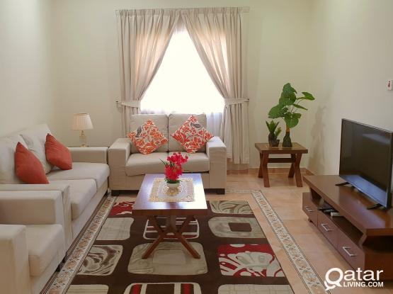 *#NO COMMISSION#* Furnished 2BHK with GYM and WiFi @BIN OMRAN