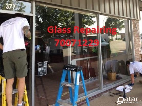 Glass Repairing works