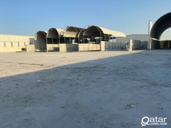 open yard .Land for rent 5000  sq.m & 10000 sq.m industrial area