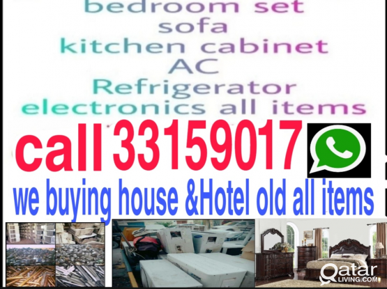 Buying used bedrooms. Buying used sofa and used ai