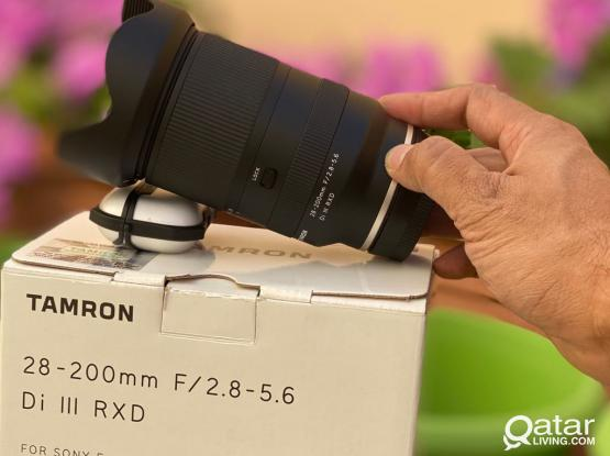 Tamron 28-200mm F2.8-5.6 Di III RXD For Sony FE