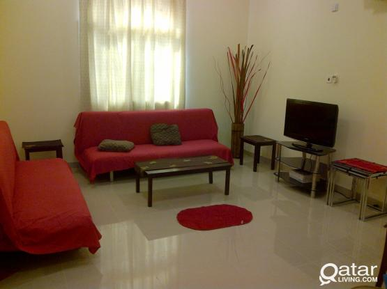 Very Big 1BHK - QF & SIDRA Area - No Comission (Whatsapp Only)