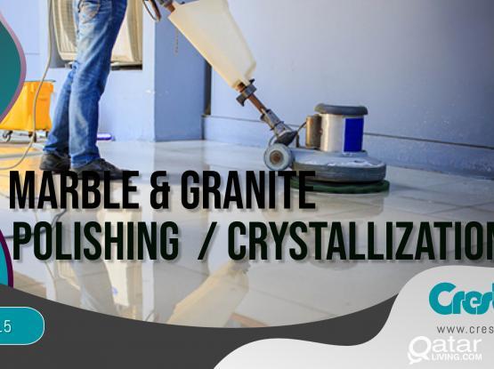 Marble Polishing / Crystallization