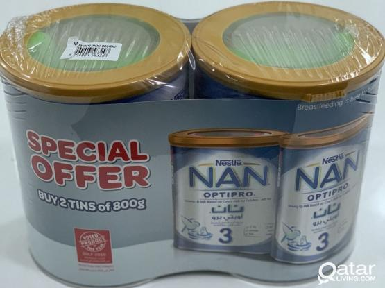Unopened Brand new Nestle Nan Pro (FREE DELIVERY)
