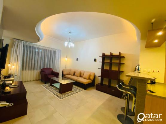 Elegant FF 1BHK Apt+All Facities & Bills-Mushreib