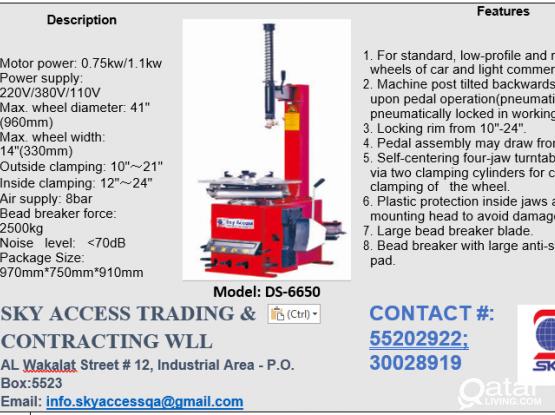 Automobile Hydraulic Equipment;s for Sale - European Standard