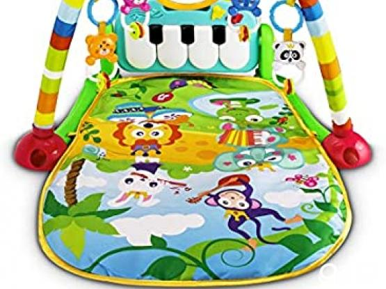 Baby Gym and Music crib toy spinner with remote