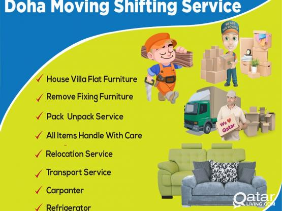 Any Moving.. Shifting.. Carpenter.. Packing work.. Call me-97433117353