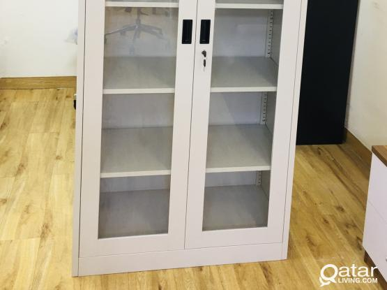 BOOK SHELF  WITH GLASS DOOR - PH- 77850533