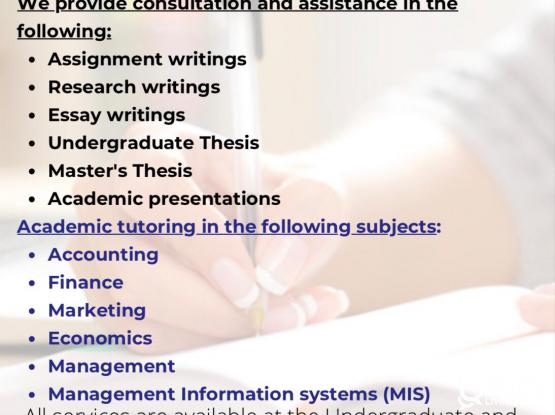 AFFORDABLE Assignment writing/ proofreading