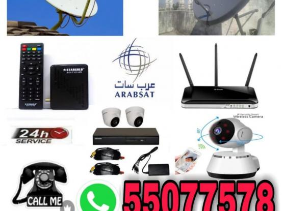 Any Type Satellite And Cctv Camera Work Please Cal