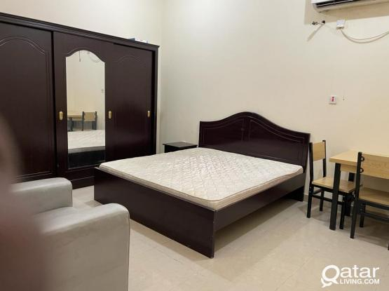 Neat and clean fully furnished 1bhk available near lulu alkhor 31148352