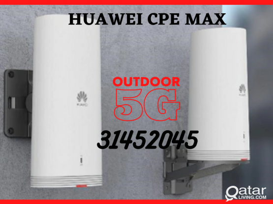 5G Huawei CPE MAX - Outdoor and Indoor Units