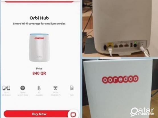 Orbi oreedo router RBR50