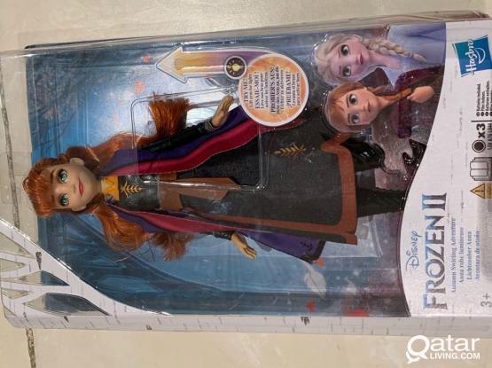 Singing Or Light Up Dress Elsa& Ana Doll