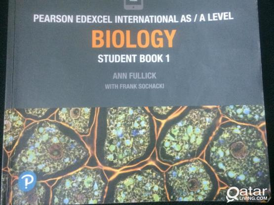 Pearson Edexcel AS Level Biology Text book